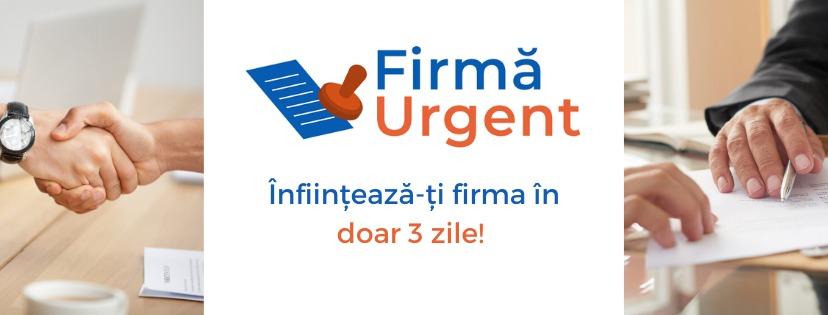 Firma Urgent - Constanta